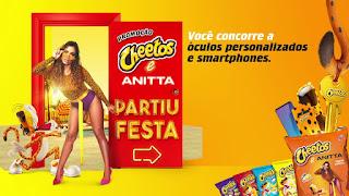 Promoção Cheetos e Anitta