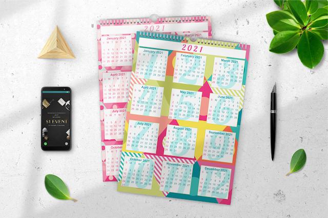 More FREE 2021 Calendars