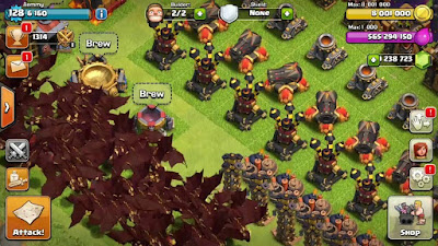Clash of clans modded private server