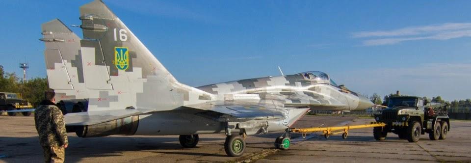 ЗСУ отримали модернізований винищувач МіГ-29МУ1