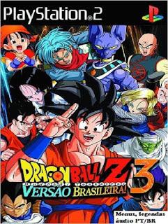 Dragon ball Z budokai tenkaichi 3 Versão Brasileira