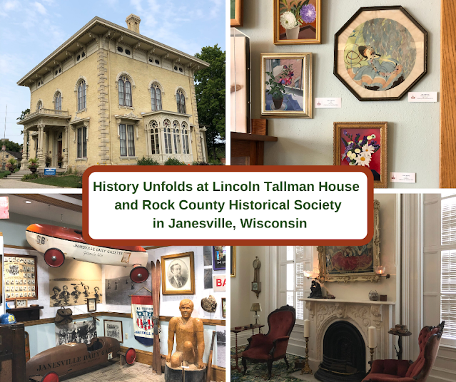 History Unfolds While Touring Lincoln Tallman House and Rock County Historical So