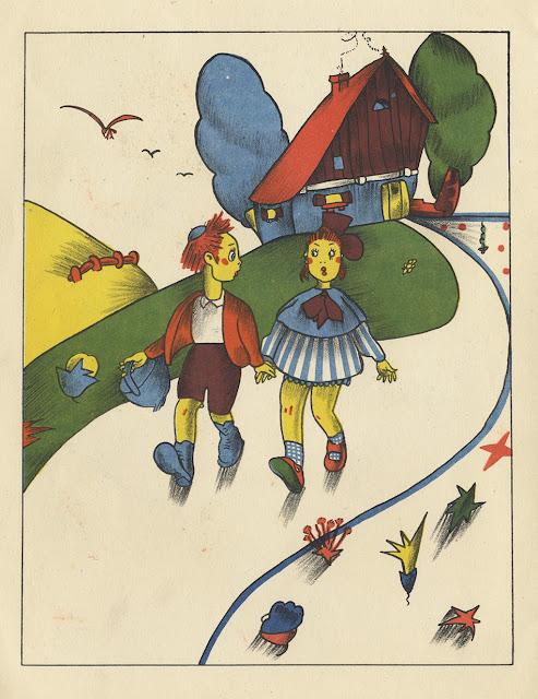 Pinturas infantiles - Piti Bartolozzi -  Saturnino Calleja - Hansel y Gretel