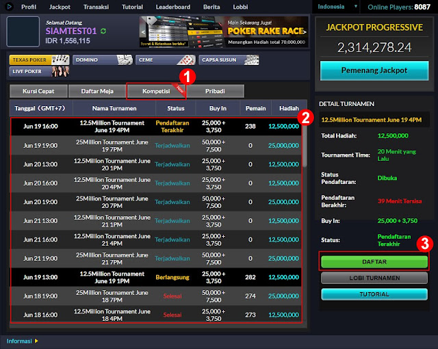 Turnamen Poker Online Indonesia BandarGame.net Support By IDNPlay - www.AgenJudiOnlineQDewi.net