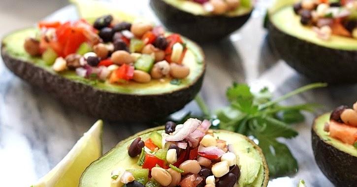 Cowboy Caviar With Avocado And Black Beans