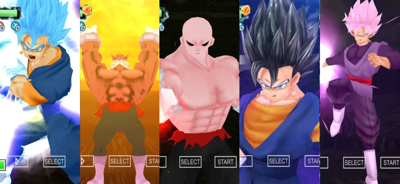 DBZ TTT Mod with Dragon Ball Super Characters