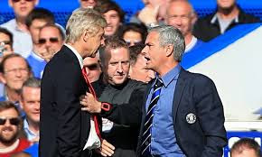 Mourinho and Wenger Fight