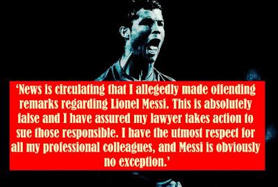 Ronaldo about news