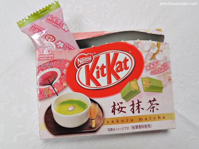 Kit Kat de Matcha y Sakura de Japón