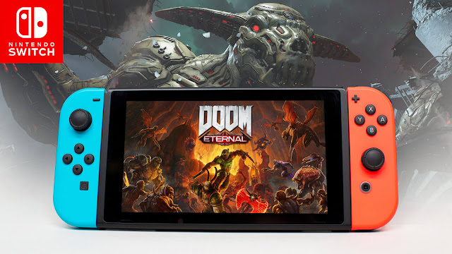 doom eternal nintendo switch release soon first-person shooter game id software bethesda doomguy