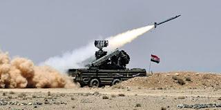 οι περισσότεροι από τους 100 πυραύλους κατά της Συρίας αναχαιτίστηκαν