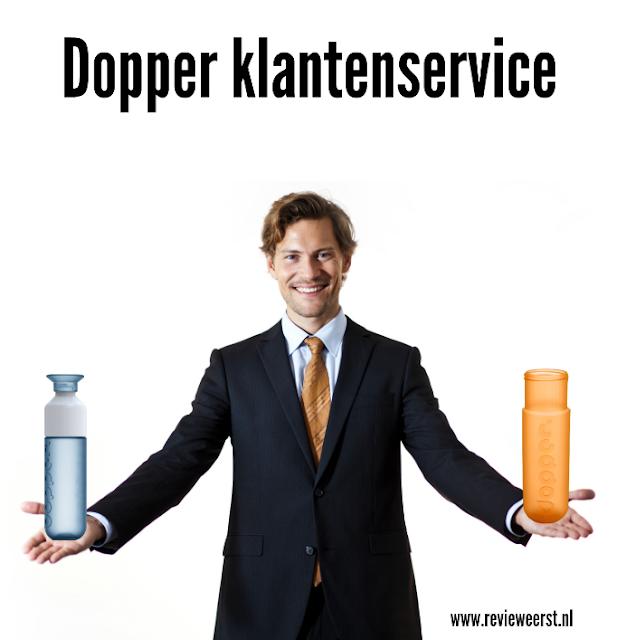 dopper fles klantenservice