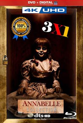 Annabelle 3X1 COMBO HD DVD LATINO 5.1