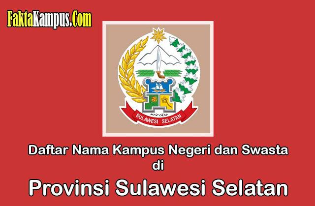 Kampus di Sulawesi Selatan