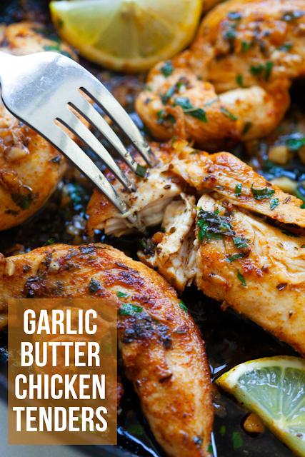 Garlic Butter Chicken Tenders