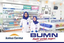 Lowongan Kerja Padang: PT. Kimia Farma Trading & Distribution Agustus 2018