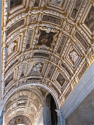 Doge's Palace in Venice ceiling
