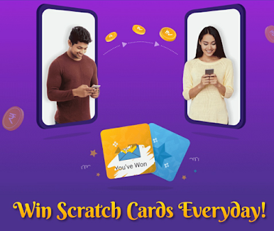 PhonePe Win ScratchCard Everyday