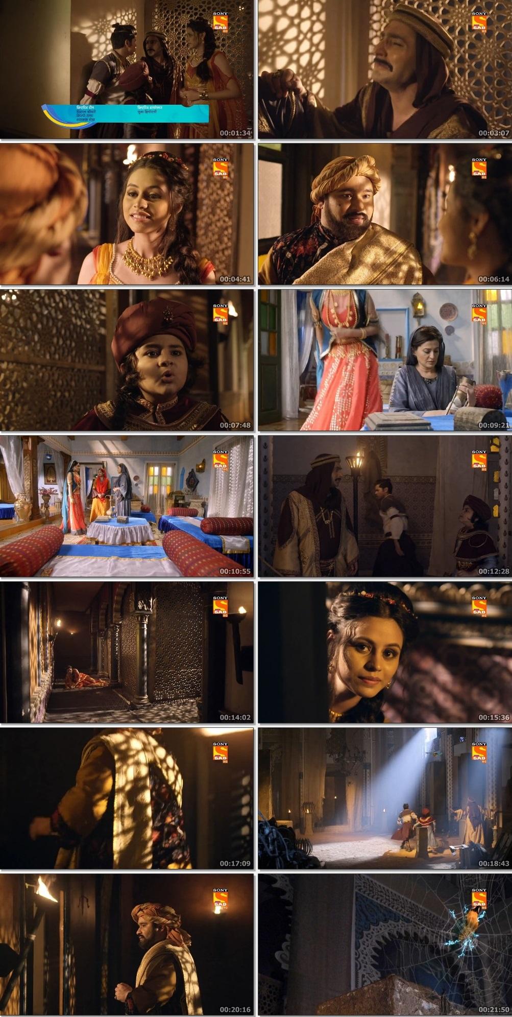 Screenshots Of Hindi Show Aladdin – Naam Toh Suna Hoga 2019 Episode 226 300MB 720P HD