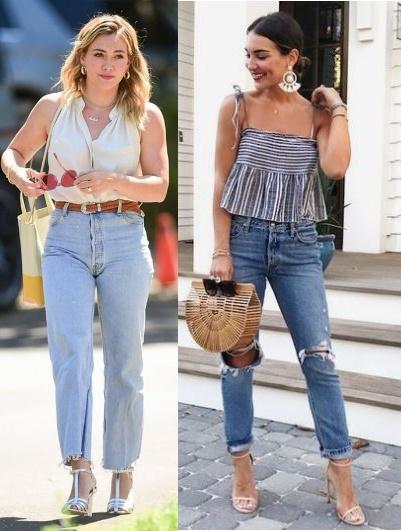 12 Looks inspiração com calça jeans, Hilary Duff, Kathleen Barnes