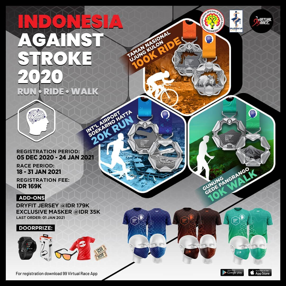 Run Ride Walk Indonesia Against Stroke • 2020