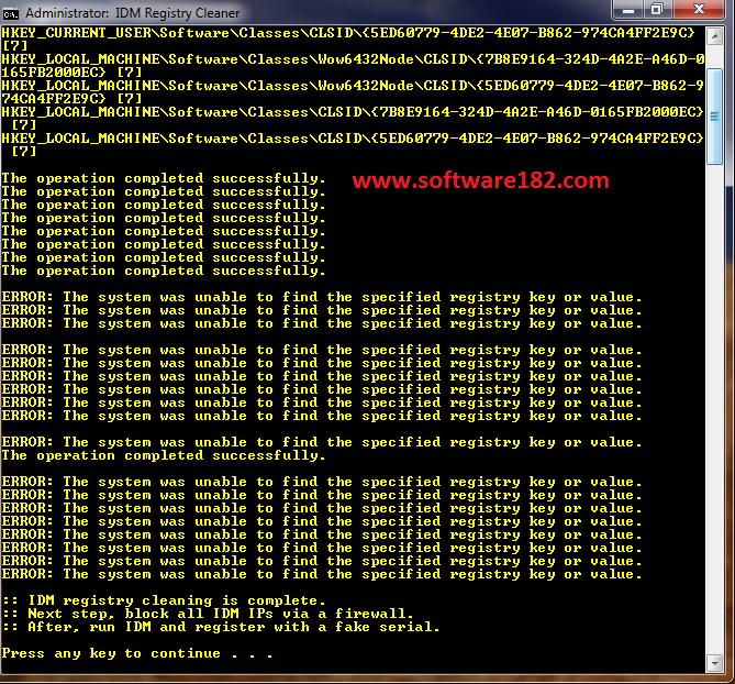 Cara Paling Mudah Menghilangkan Fake Serial Number IDM