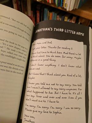 Jonathan's Third Letter Home