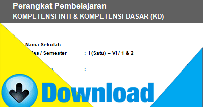 Download Kompetensi Inti Dan Kompetensi Dasar Kurikulum 2013 Kelas 2 Sd Semester 1 Amp 2 File