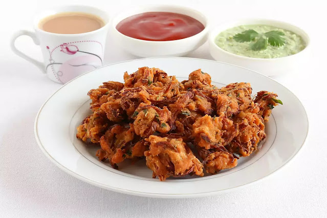 Besan Pakora Recipe in Hindi