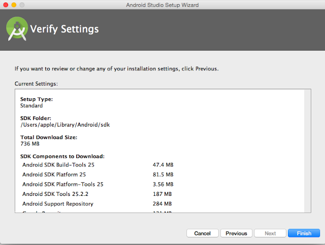 Verify Android Studio Installation