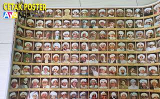 cetak poster foto habaib murah cepat di Taman Sari, Jakarta Barat
