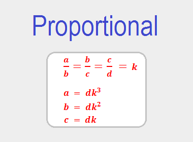 Proportional