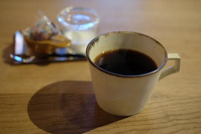 松本市の喫茶・カフェ Cafe chiiann (カフェ チーアン)食後のコーヒー