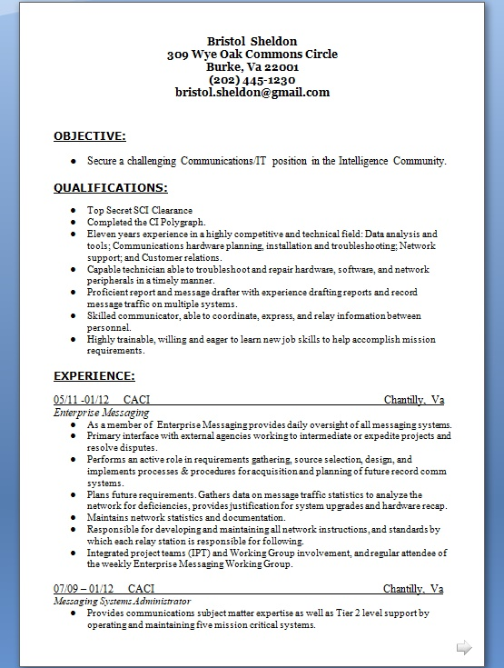 Messaging Systems Administrator Sample Resume Format in Word Free - messaging administrator sample resume
