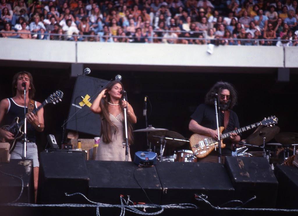 1925 Rolls Royce Phantom >> Grateful Dead Live at Giants Stadium, 1978 ~ vintage everyday