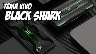 kalian bisa mengganti tampilan ponse vivo menjadi xiaomi black shark dalam 10 detik