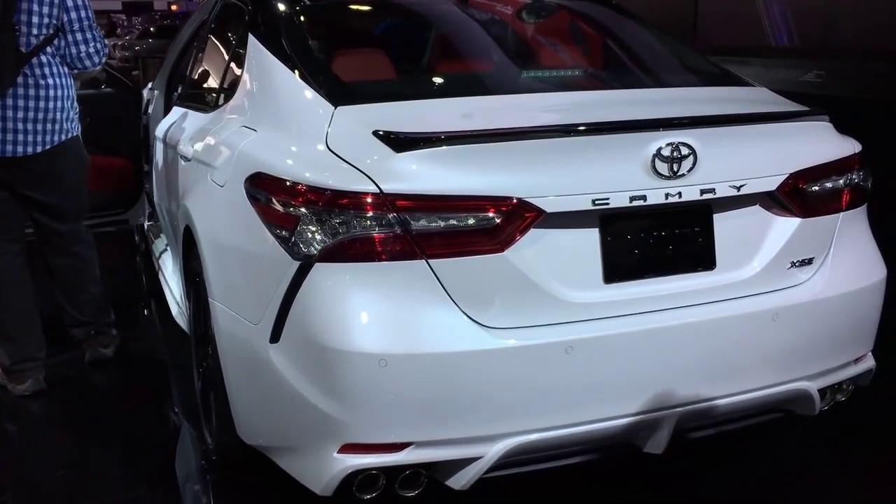 2018 toyota camry xse v6 review and release date vehicle gloss for 2018 toyota camry xse red interior