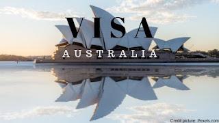 visa kunjungan ke australia