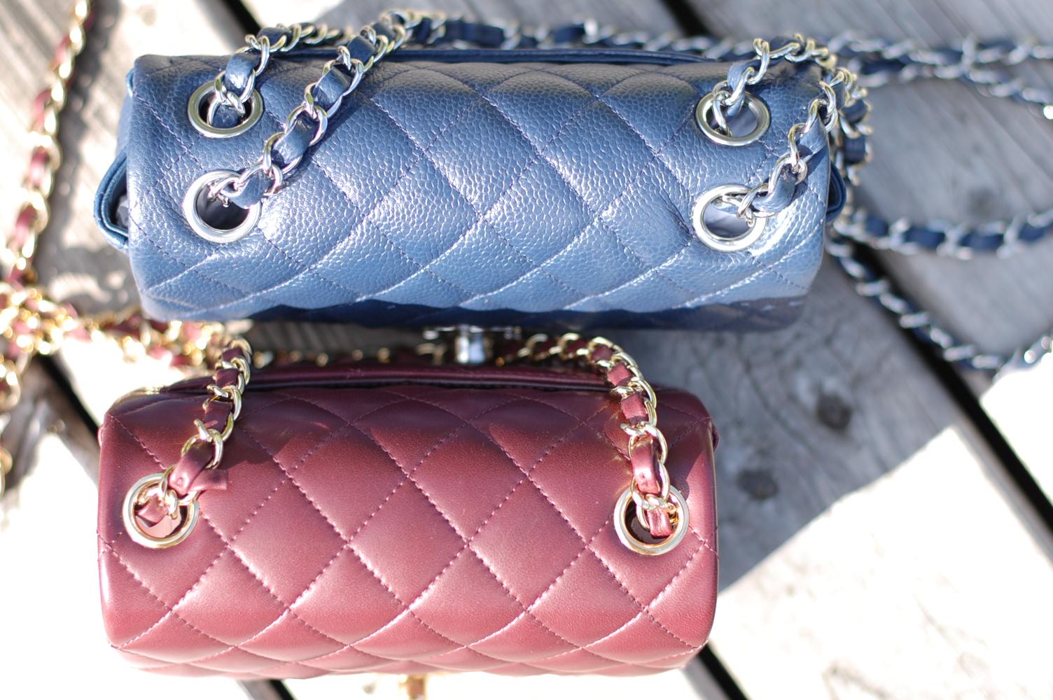 0804485d3d55 Chanel Timeless Classic Mini Flap handbags  A friendly comparison ...