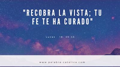 Evangelio del Día Lunes 18 de Noviembre - Lectura y Salmo de hoy
