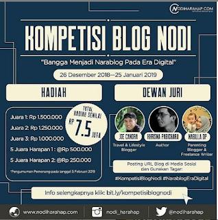 Kompetisi Blog Nodi