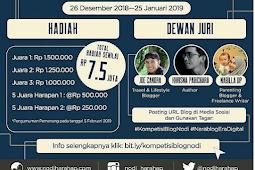 Daftar Lomba Blog Januari 2019 | Awali Tahun Dengan Blog Competition