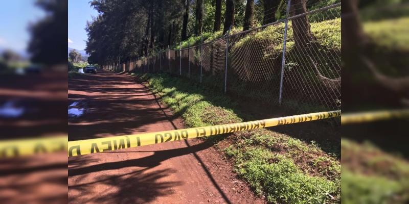 Abandona tres ejecutados dentro de costales en Paracho, Michoacan