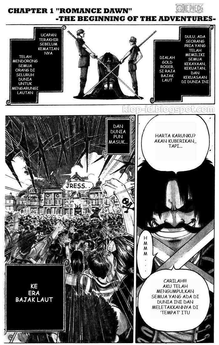 Komik One Piece Bahasa Indonesia Pdf
