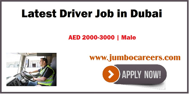 Latest Driver Job in Dubai