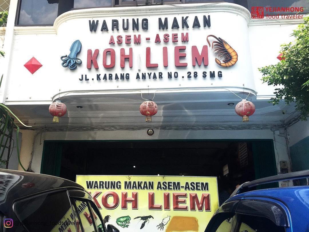 Wisata Kuliner Asem-asem Koh Liem Semarang