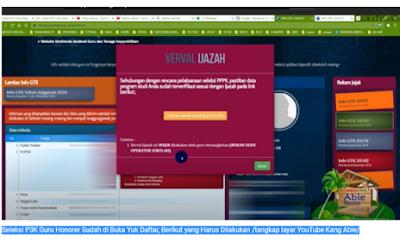 Kabar Gembira! Seleksi P3K Guru Honorer Sudah di Buka Yuk Daftar, Berikut yang Harus Dilakukan
