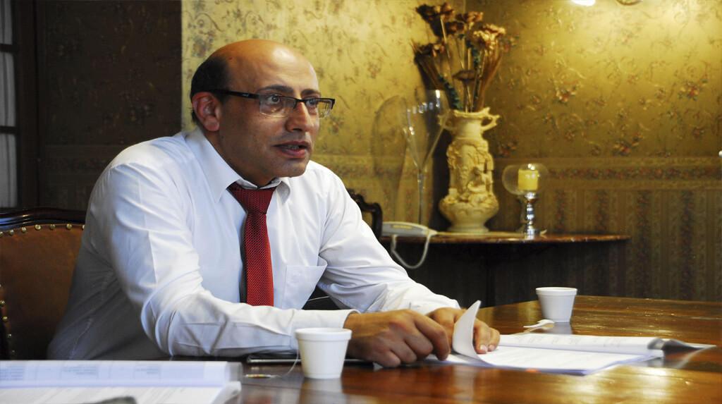 El presidente de la Asociación Nacional de la Prensa de Bolivia (ANP), Marco Antonio Dipp / FRANZ CHAVEZ / ANP