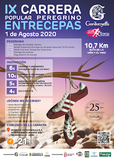 Carrera Popular Peregrino Entrecepas 2020