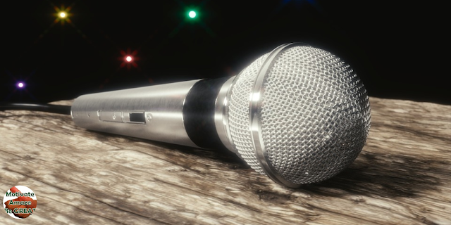 "Featured in the article: ""How To Become A Motivational Speaker"". Motivational speaker microphone, requirements"